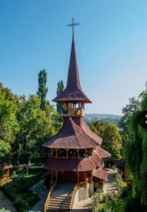 Biserica din lemn- modelul viitoarei biserici din Olbia